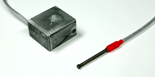 A picture of the AutoMagic Lock prototype.